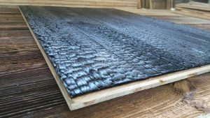 3d wall panel Shou Sugi